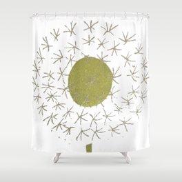 Pissenlit Shower Curtain