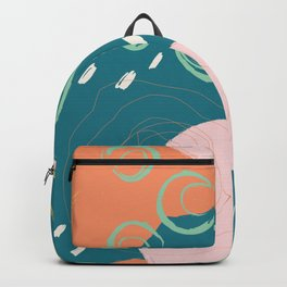 Wild Abstract Backpack