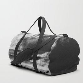 Walking into Fire Duffle Bag