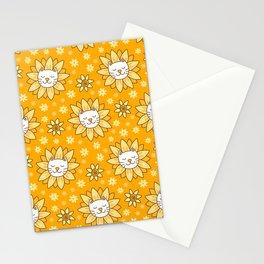 Sunflower Kittens Stationery Cards