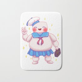 Stay Puft and Cute Bath Mat