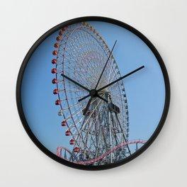 Cosmo World Under Summer Skies Wall Clock