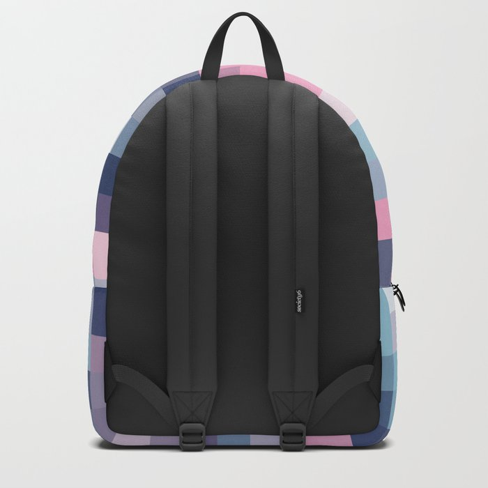 Mat Map Squares Backpack