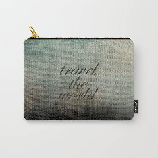 Travel the world Carry-All Pouch