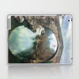 The hump-backed Roman Bridge Laptop & iPad Skin