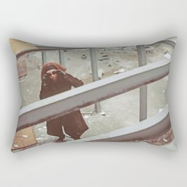 moments of distortion Rectangular Pillow