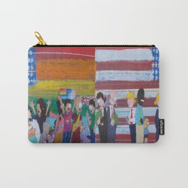 United We Stand Divided We Fall 12: Together Carry-All Pouch