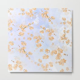 Cherry Flower 4 Metal Print