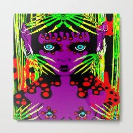 purple imp Metal Print