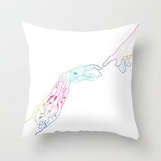 The Next Stage Of Evolution Throw Pillow