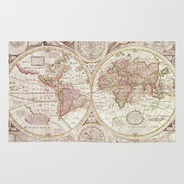 An Accurate Map Rug