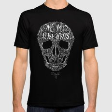 No One But Death (Shall Part Us) X-LARGE Black Mens Fitted Tee