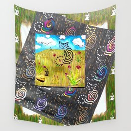 Cat and the Mouse Wall Tapestry