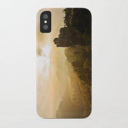 Elbe Sandstone Mountains iPhone Case
