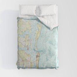 FL Fernandina Beach 346132 1981 topographic map Comforters