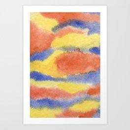PRIMEVAL SKIES Art Print