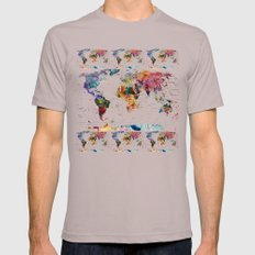 map X-LARGE Mens Fitted Tee Cinder