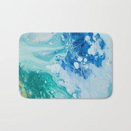 Liquid Blues and Greens Bath Mat