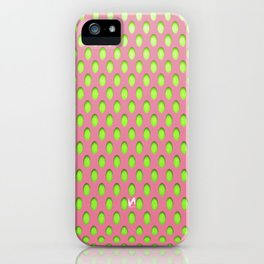 Elongated Holes1 Lusty Gallant iPhone Case