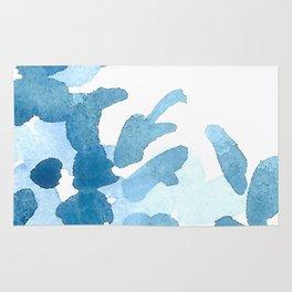 Seren Blue Watercolor Cascade Rug