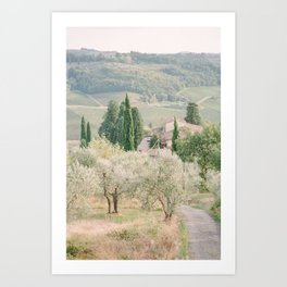 Tuscany I Art Print