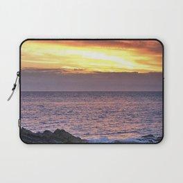 Seacape sunset Laptop Sleeve