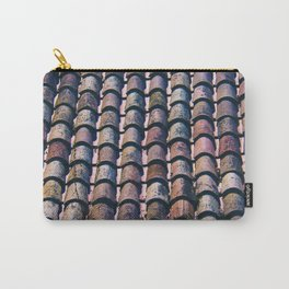 Tile on Roof Girona Spain Carry-All Pouch