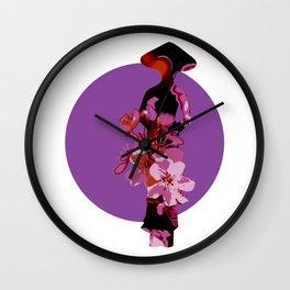Vietnamese Woman in Traditional Ao Dai Wall Clock