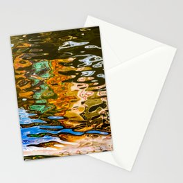 reflection -abstract Stationery Cards
