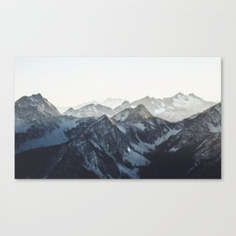 Mountain Mood Canvas Print
