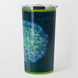 Dandelion ready to fly away - energy art Travel Mug
