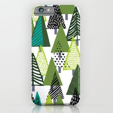 Pine Trees iPhone 6s Slim Case