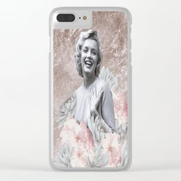 Spring Marilyn Clear iPhone Case
