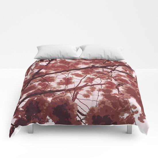 April in Paris Comforters