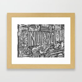 """Nuevo"" The Billboard Framed Art Print"