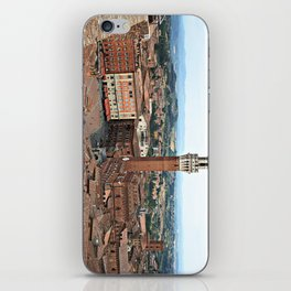 Siena, Italy from Above iPhone Skin