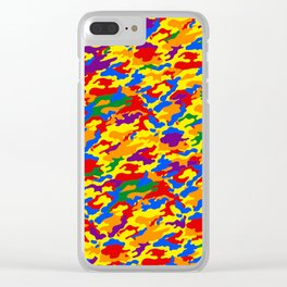 Homouflage Gay Stealth Camouflage Clear iPhone Case
