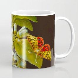 Elisabeth Christina Matthes - Botanical Floral Insect Illustration Coffee Mug