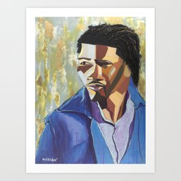 The Tribute Series-Mathew Ajibade Art Print