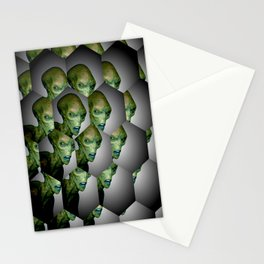Alien Files Stationery Cards
