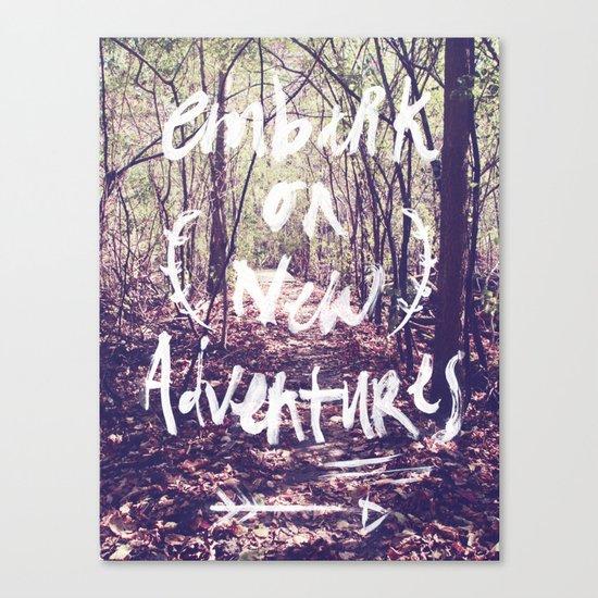 New Adventures Canvas Print