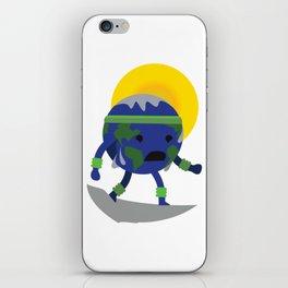 Sweating Earth iPhone Skin