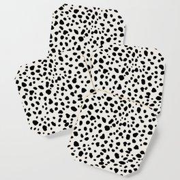 Polka Dots Dalmatian Spots Coaster