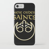 new order iPhone & iPod Cases featuring New Order Saints by Ant Atomic