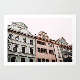 Europe Village Art Print