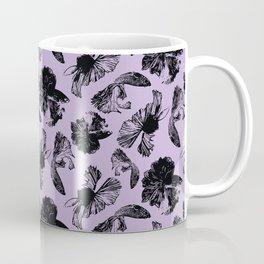 Beta Fish Lavender Coffee Mug