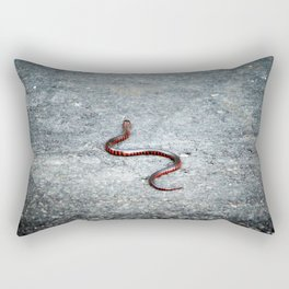 Juvenile Eastern Mud Snake Rectangular Pillow