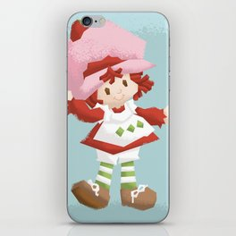 Strawberry Shortcake iPhone Skin