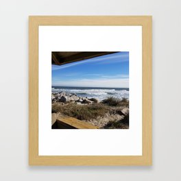 Fort Fisher, Kure beach Framed Art Print