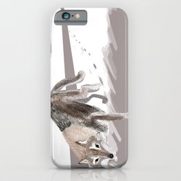 Totem Russian Wolf iPhone Case